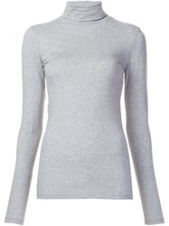 Lareida 'Nancy' Turtleneck Pullover Grey