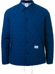 Bedwin And The Heartbreakers Quilted Jacket Blue