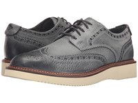 Sperry Gold Lug Wingtip Brogue Oxford Grey Men's Lace Up Wing Tip Shoes Gray