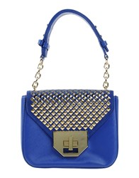 Pinko Tag Bags Handbags Women Bright Blue