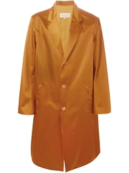 Maison Margiela Oversized Trench Coat Brown