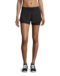 Asics Fit Sana 2 N 1 Sport Shorts Performance Black