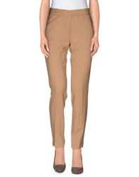 Clips More Trousers Casual Trousers Women Camel