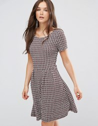Vero Moda Checked Mini Dress Multi