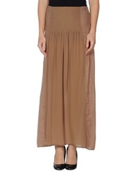 Jucca Long Skirts Black