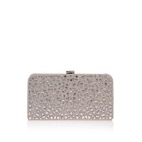 Carvela Glow Clutch Bag Nude