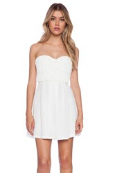 Toby Heart Ginger Bella Braided Dress White