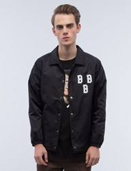 Black Scale Triple B Coach's Jacket