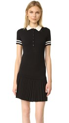 Red Valentino Polo Dress Black Cream