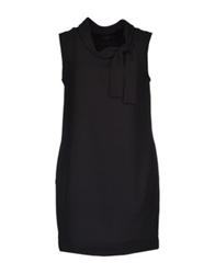 Soallure Short Dresses Black