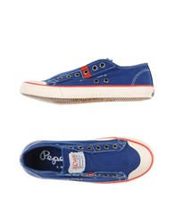 Pepe Jeans Footwear Low Tops And Trainers Men Blue