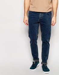 Dr. Denim Dr Denim Jeans Clark Slim Fit Dull Blue Acid Wash Blue