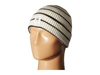 Vans Shorely Beanie White Sand Black Beanies Gray
