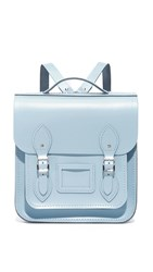 The Cambridge Satchel Company Small Portrait Backpack Periwinkle Blue