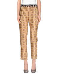 Hoss Intropia Trousers Casual Trousers Women Ocher