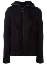 Dondup Zipped Cardigan Black