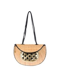 Rodo Medium Leather Bags Beige