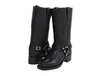 Frye Belted Harness 12R Black Leather Cowboy Boots