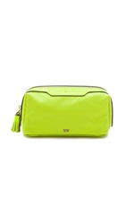 Anya Hindmarch Girlie Stuff Bag Neon Yellow