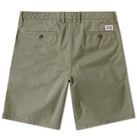 Norse Projects Aros Light Twill Short Green
