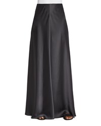 The Row Afrol A Line Long Skirt Pewter Silver