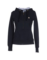 Duck Farm Topwear Sweatshirts Women Dark Blue