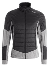 Craft Sports Jacket Black Dark Grey Melange