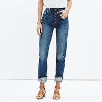 Madewell Rivet And Thread Button Front Boyjean