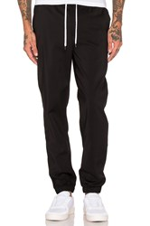 Black Scale Sprinter Sweat Pants Black