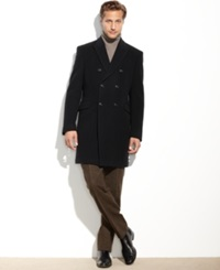 Tommy Hilfiger Burbank Cashmere Blend Overcoat Classic Fit