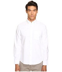 Jack Spade Sheppard Trapunto Solid Oxford White