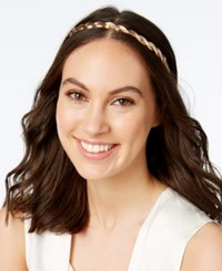 Josette Twisted Metal Headband Gold