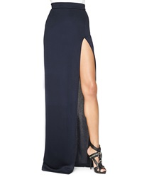 Cushnie Et Ochs High Slit Full Length Skirt