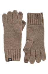 Echo Women's 'Touch' Stretch Fleece Tech Gloves Gunmetal