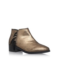 Kg By Kurt Geiger Shimmy Ankle Boots Female Gold