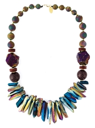 Katerina Psoma Mixed Stone Beaded Necklace