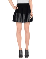 Mariuccia Mini Skirts Black