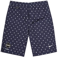 Nike X F.C. Real Bristol Polka Dot Practice Short Obsidian And White