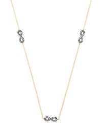 Freida Rothman Belargo Infinity Cz Station Necklace
