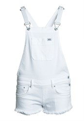 Superdry Emmins Dungarees Winter White