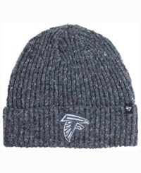 47 Brand '47 Atlanta Falcons Nfl Back Bay Cuff Knit Hat Heather Charcoal
