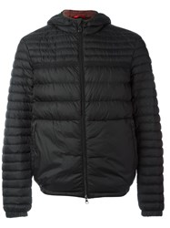 Peuterey Zipped Hooded Jacket Black