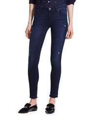 Dl Distressed Ankle Length Jeans Stark