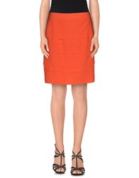 Max And Co. Skirts Knee Length Skirts Women Coral