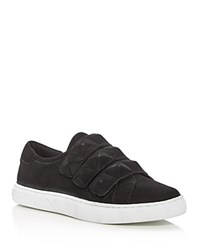 Rebecca Minkoff Becky Stud Strap Sneakers Black