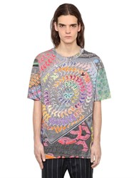 Vivienne Westwood Psychedelic Print Cotton Jersey T Shirt