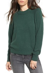Women's Bp. Crewneck Raglan Pullover Green Pinecone