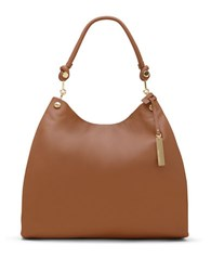 Vince Camuto Ruell Leather Hobo Russet
