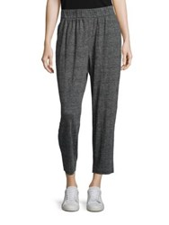 Eileen Fisher Organic Cotton Tapered Ankle Pants Graphite