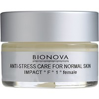 Bionova Women's Anti Stress Care For Normal Skin Level 1 No Color